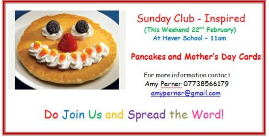 Sunday Club - Feb